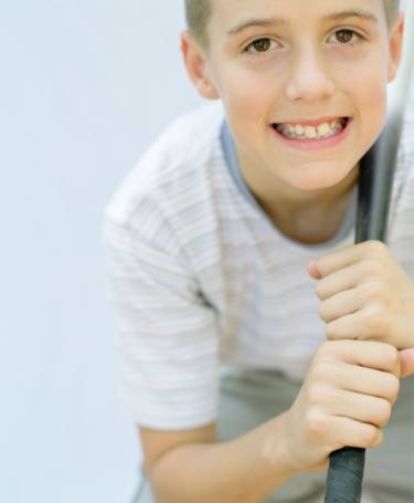 Keep your kids' teeth safe when they play sports!